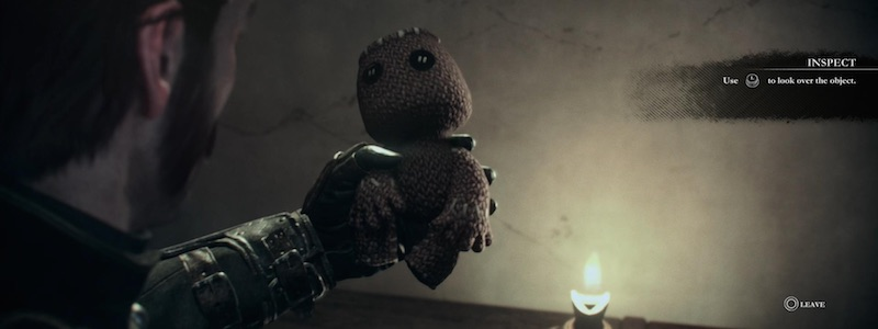 The Order Sackboy