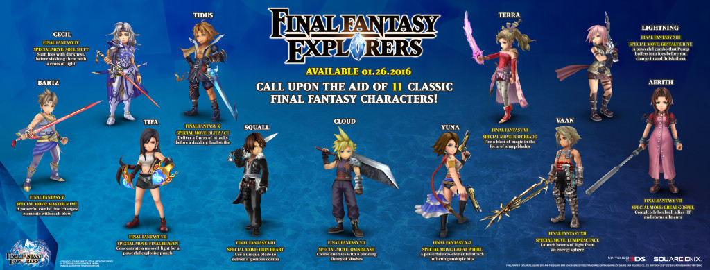 FFEX Legacy Characters