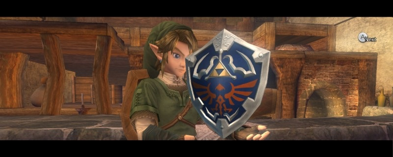 Twilight Princess Shield