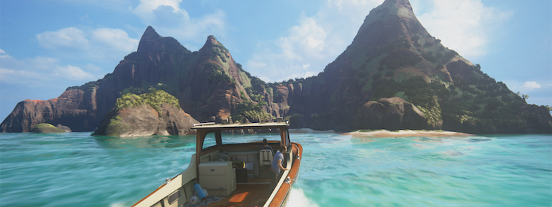 Review Uncharted 4 Boat