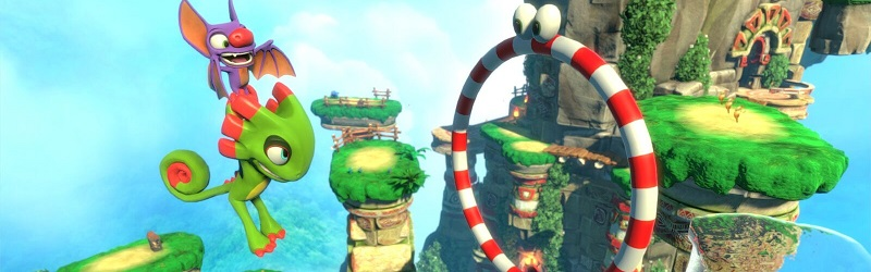 First impression of Yooka-Laylee
