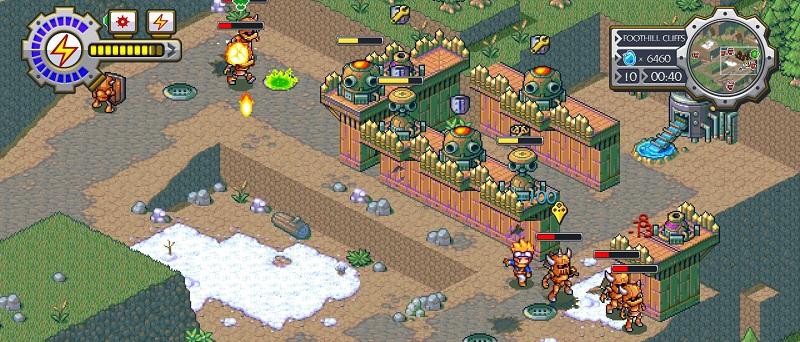 Lock's Quest Review Screenshot