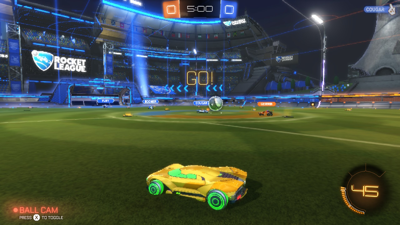 Rocket League Review 3