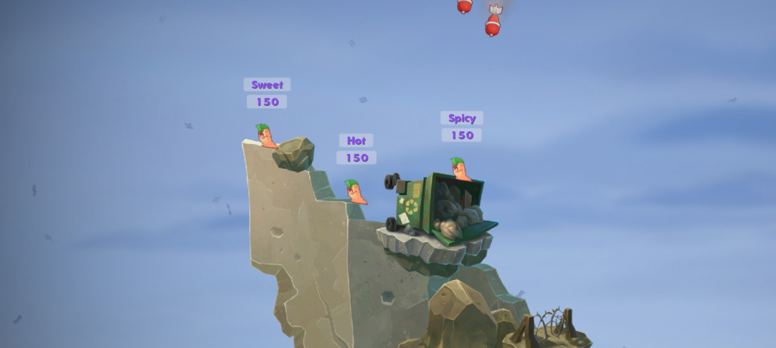 Worms W.M.D Airstrike